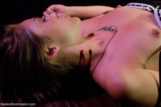 vampire shoot sex and submission