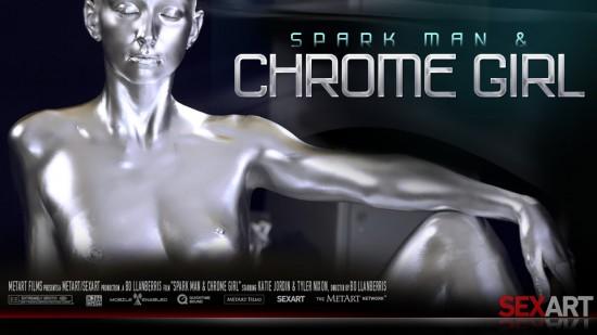 spark man chrome girl sex art