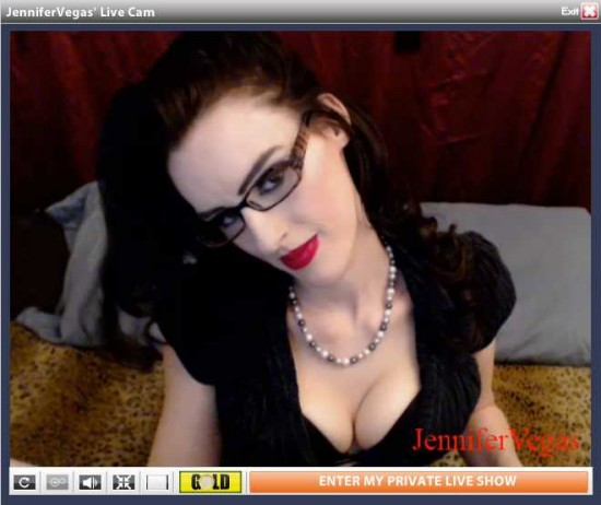 jennifer vegas cam glasses